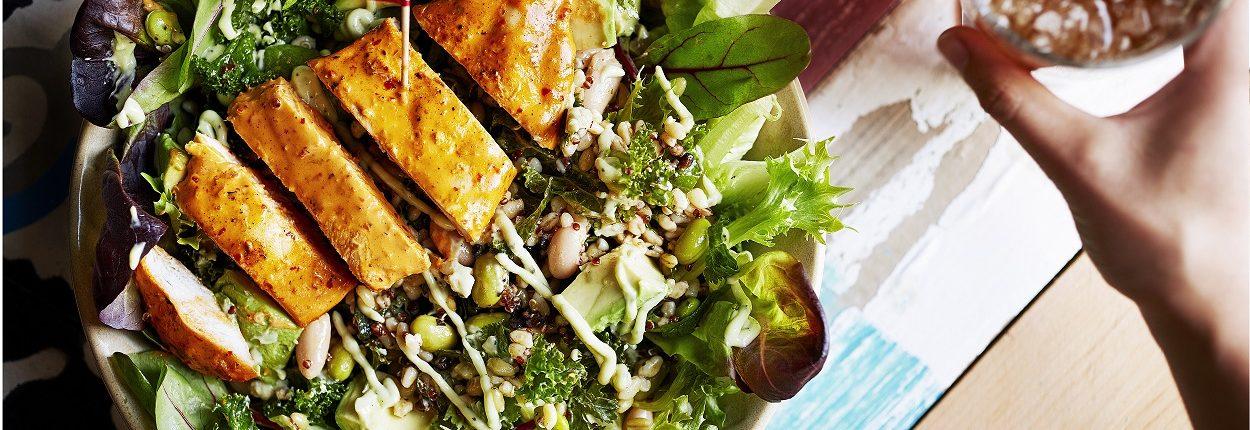 Nandos Supergrain Salad Chicken