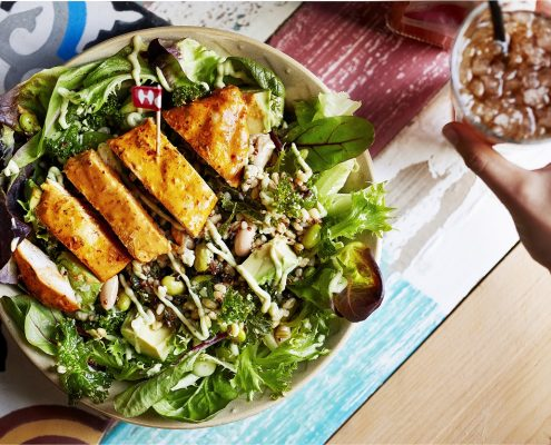 Nandos Supergrain Salad Chicken